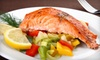 Half Off Seafood at Ketch Joanne Restaurant and Harbor Bar in Princeton-by-the-Sea