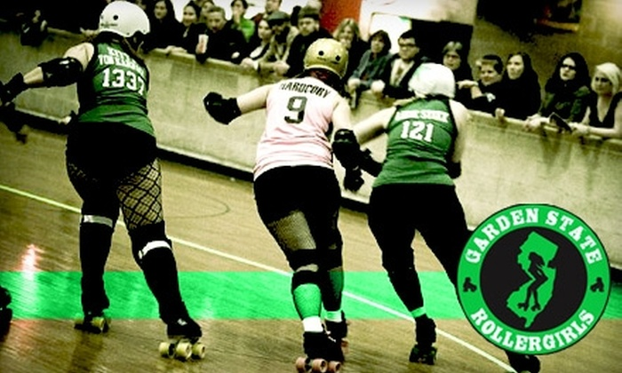 Garden State Rollergirls - Wallington: $6 Admission to Garden State Rollergirls Roller-Derby Bout in Wallington. Choose from Four Dates.