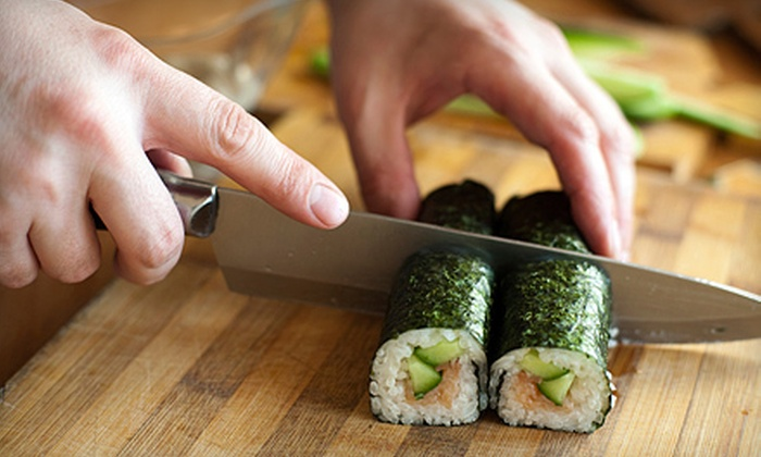 Japanese Culinary Studio Kitchen - Morningside Heights: Six-Course Sushi-Making and Japanese-Cooking Class for Two or Four at Japanese Culinary Studio Kitchen (Up to 53% Off)