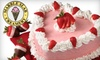 Marble Slab Creamery - Maple Valley: $15 for a 9-Inch Heart Cake or Two 4-Inch Heart Cakes and a Half-Dozen Chocolate-Covered Strawberries at Marble Slab Creamery in Maple Valley (Up to $32.95 Value)