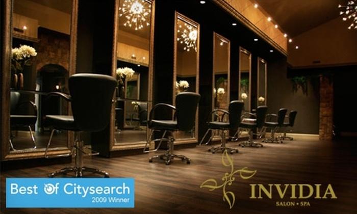 Invidia Salon and Spa - Sudbury: $30 for an Express HydraFacial ($60 Value) or $75 for a Compu-Lift Facial Treatment (Up to $175 Value) at Invidia Salon and Spa in Sudbury