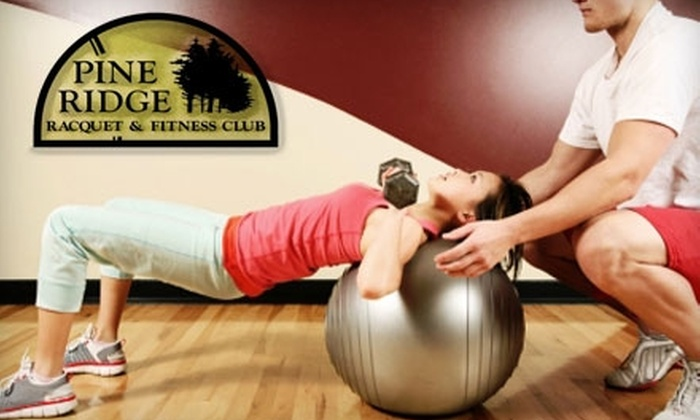Pine Ridge Racquet & Fitness Club - Fort Wayne: $35 for Three Private Personal-Training Sessions at Pine Ridge Racquet & Fitness Club ($150 Value)
