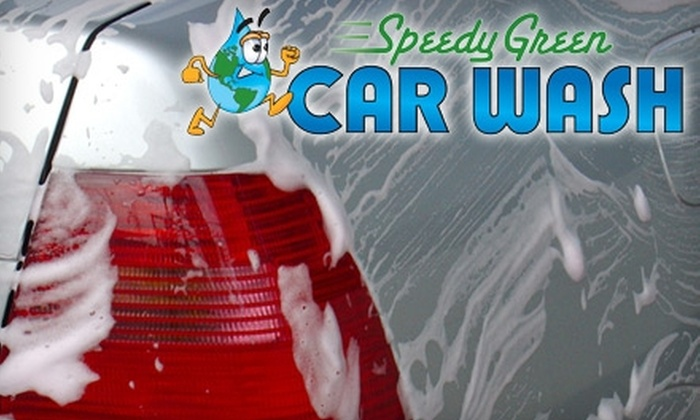 Speedy Green Car Wash - Manassas Park: $15 for One Month of Deluxe Washes at Speedy Green Car Wash in Manassas Park ($29.99 Value)