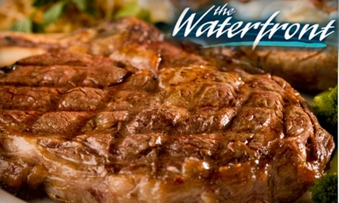 The Waterfront Dining & Bistro Bar - Pickering: $25 for $50 Worth of Upscale Seafood, Steaks, and Drinks at The Waterfront Dining Bistro & Bar in Pickering