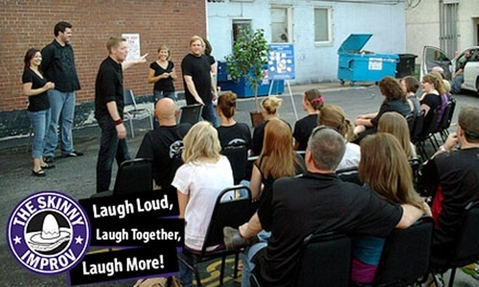 The Skinny Improv - Downtown Springfield: $10 for Two Tickets to Any Show at The Skinny Improv (Up to $24 Value)