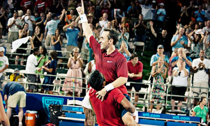 Washington Kastles - Southwest - Waterfront: $30 for a Washington Kastles World TeamTennis Match Package at Kastles Stadium on Friday, July 20 (Up to $66.55 Value)