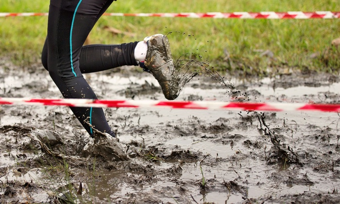 Wilderness Survival - Camp Pinnacle: 5K Mud Run for One, Two, or Four People from Wilderness Survival (Up to 60% Off). Six Options Available.