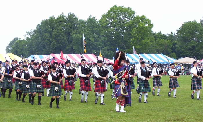 McKenzie Highland Games - Venue Location: Family or Adult Entry to McKenzie Highland Games (Up to 46% Off). Five Options Available.