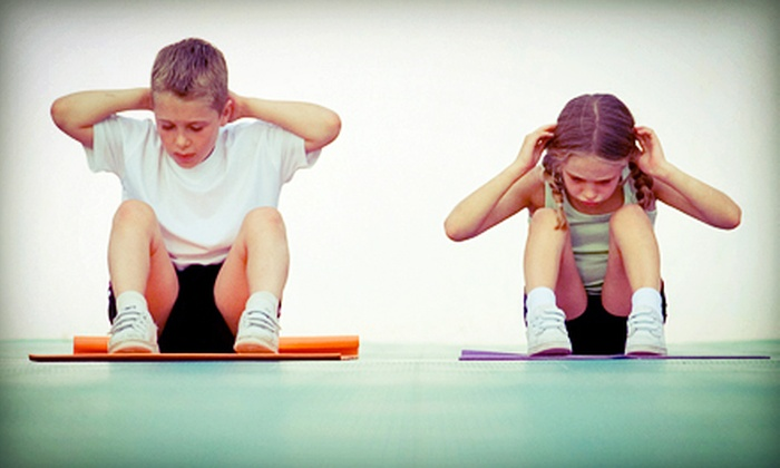 Kids and Fitness - Three Lakes: $25 for Five Youth Fitness and Nutrition Classes at Kids and Fitness ($75 Value)