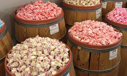 $12 for $20 Worth of Saltwater Taffy at Candy Land