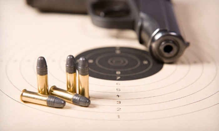 Learn To Shoot North Carolina - Marks Creek: $89 for a Concealed Carry Firearms Course Package with Safety Gear at Learn To Shoot North Carolina (up to a $230 Value)