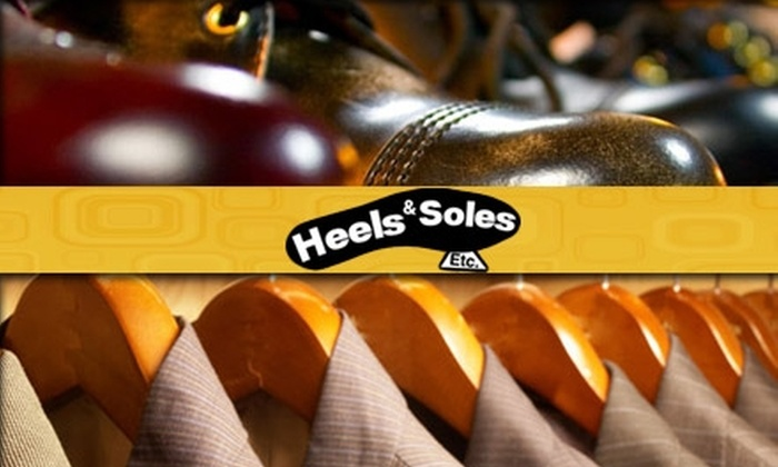 Heels & Soles Etc. - Pikesville: $15 for $30 Worth of Dry Cleaning and Shoe Repair at Heels & Soles Etc.