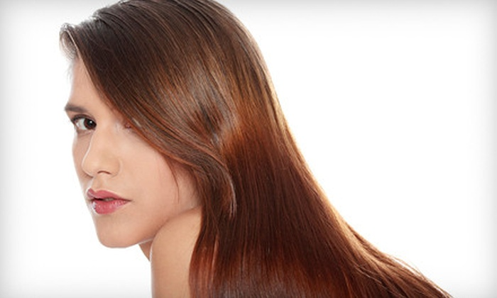 J. Kelley Salon Inc. - Multiple Locations: Lasio Keratin Treatment or $40 Worth of Waxing Services at J. Kelley Salon Inc. (Up to 67% Off)