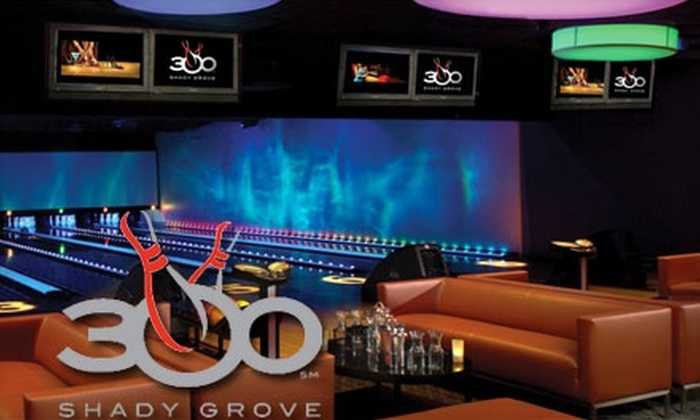 300 Bowling - Gaithersburg: $20 for $40 Worth of Bowling, Food, and More at 300 Shady Grove