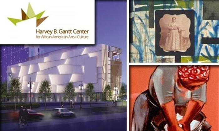 Harvey B. Gantt Center  - Second Ward: $20 for One-Year Membership to the Harvey B. Gantt Center ($50 Value)