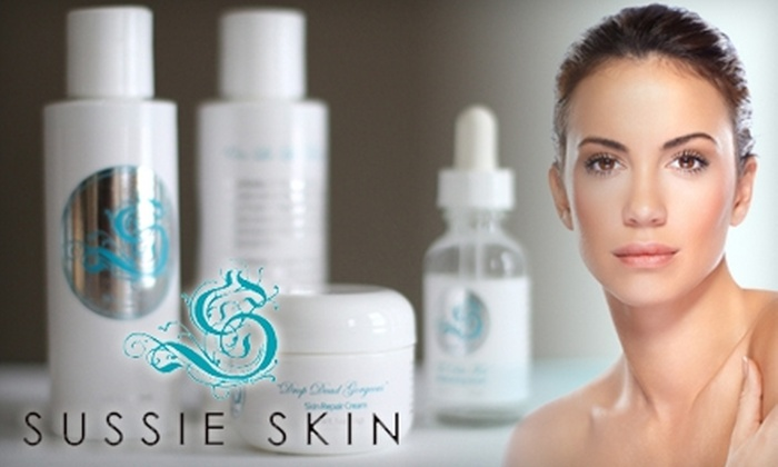 Sussie Skin: $20 for $40 Worth of Upscale Skincare Products from Sussie Skin