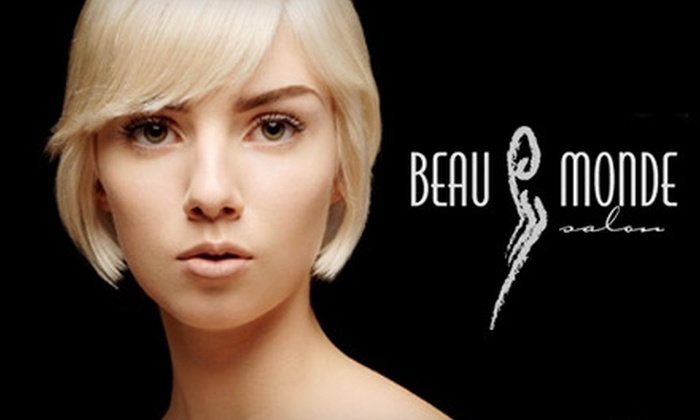 Beau Monde Salon - Summit Oaks Square: $85 for a Full Head Hair Color Treatment, Pedicure, and Bikini Wax at Beau Monde Salon ($160 Total Value)