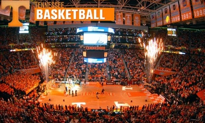 University of Tennessee Men's Basketball - University of Tennessee: $5 for a 300-Level Seat to University of Tennessee Men's Basketball vs. College of Charleston on December 31 ($10 Value)