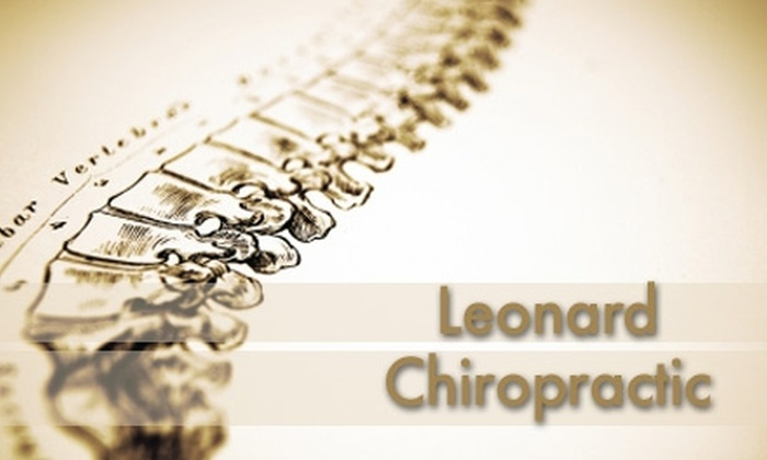 Leonard Chiropractic - Fairview Park: $50 Chiropractic Exam, X-rays, 1-Hour Massage, & Adjustment from Leonard Chiropractic ($179 Value)