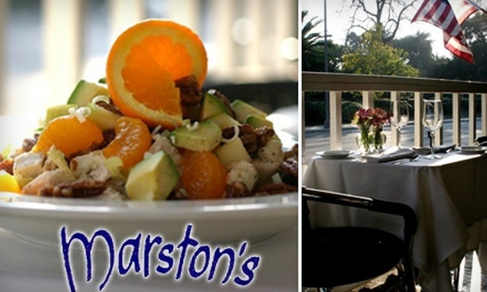 Marston's Restaurant - West Central: $15 for $30 Worth of Classic American Dinner Cuisine at Marston's Restaurant