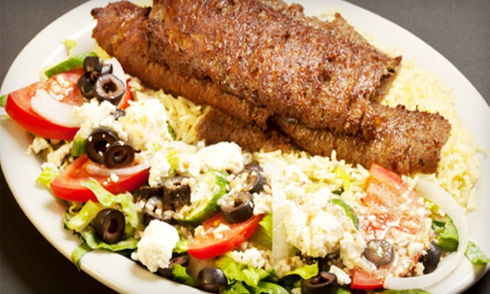 Jerusalem Grill - Festival Hills: $10 for $20 Worth of Middle Eastern Fare at Jerusalem Grill
