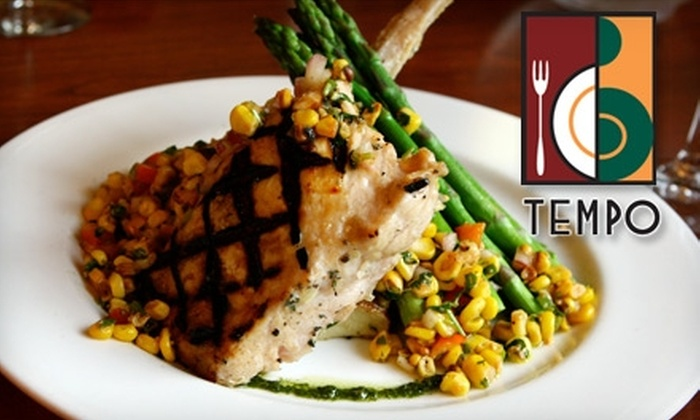 Tempo - South Side: $25 for $50 Worth of Upscale American Cuisine and Seafood at Tempo