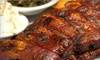 Kansas City Smokehouse - Multiple Locations: Barbecue Fare and Drinks for Lunch or Dinner at Kansas City Smokehouse in East Meadow (Up to 60% Off)