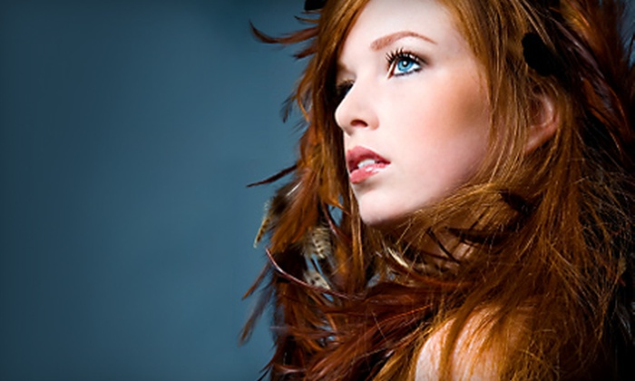 Jubilee Hair Studio - Civic Center: Hair Services at Jubilee Hair Studio. Three Options Available.