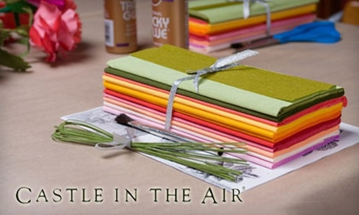 Castle in the Air - Northwest Berkeley: $50 for $100 Toward One Arts-and-Crafts Class at Castle In The Air in Berkeley
