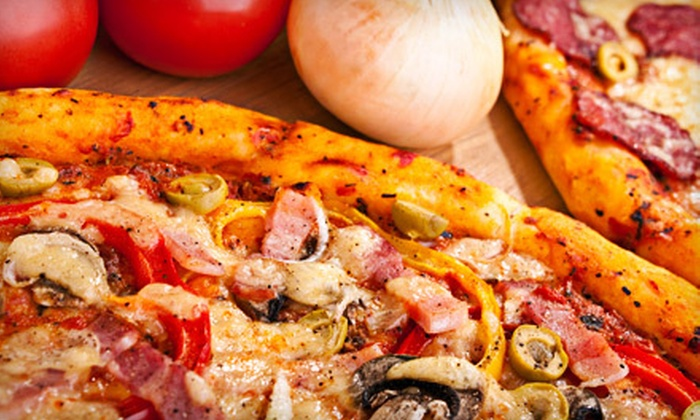 Uncle Vito's Too - P.O.E.T.: Pizza Dinner for Two or Four Sunday–Thursday or Friday or Saturday at Uncle Vito's Too in Fort Collins (Up to 62% Off)