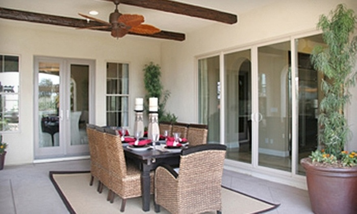 ALM Window & Door Inc. - Core-Columbia: Sliding Glass Doors at ALM Window & Door Inc. Two Options Available.
