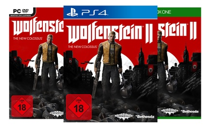 Wolfenstein II  The New Colossus für PC, Xbox One oder Playstation 4