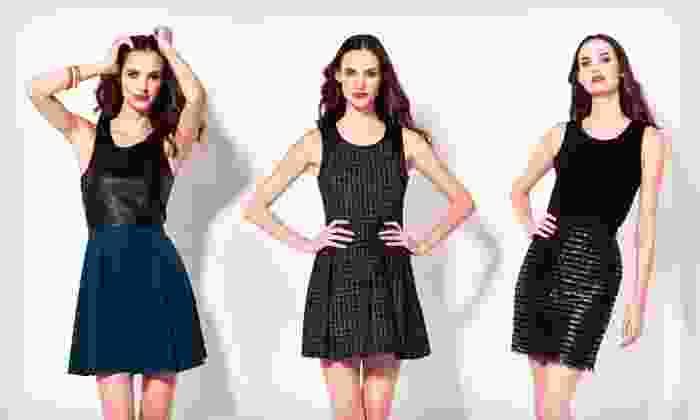 Jaye.e. Sleeveless Dresses: $43.99 for a Jaye.e. Sleeveless Dress ($189 List Price). Multiple Styles and Sizes Available. Free Shipping.