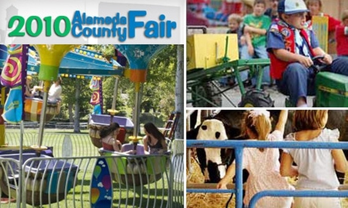 Alameda County Fair - Pleasanton: $5 for One Adult Admission to Alameda County Fair