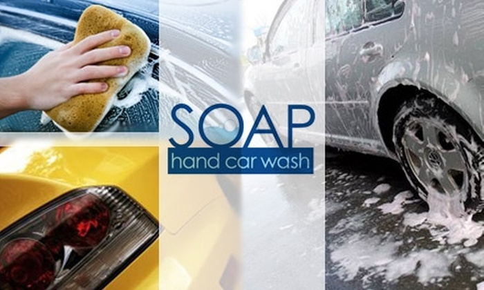 Soap Hand Car Wash - Greenway/ Upper Kirby: $15 for an Executive Wash at Soap Hand Car Wash