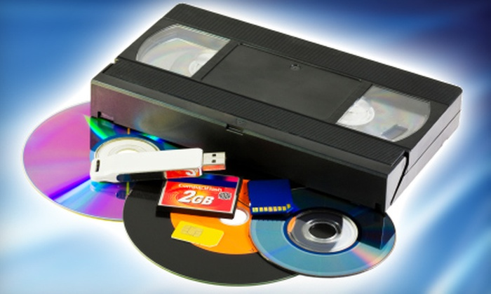 The Video Editor - Augusta: $20 for Two Videotapes Transferred to Two DVDs from The Video Editor ($40 Value)