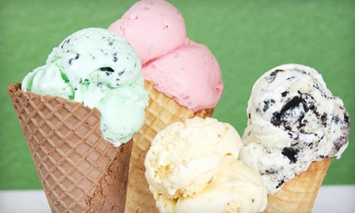 Pikes Peak Ice Cream & Gelato - Colorado Springs: $7 for $14 Worth of Frozen Treats at Pikes Peak Ice Cream & Gelato in Monument