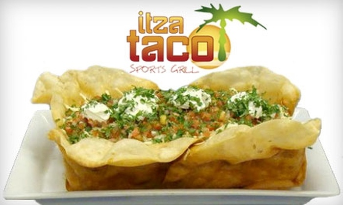 Itza Taco Sports Grill - McDonough: $10 for $20 Worth of Mexican-Inspired Comfort Fare at Itza Taco Sports Grill in McDonough