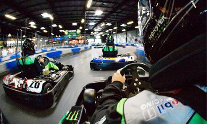 RPM Indoor Kart Racing - La Riviera: Indoor-Kart-Racing Packages for Kids or Adults at RPM Indoor Kart Racing (Up to 55% Off)