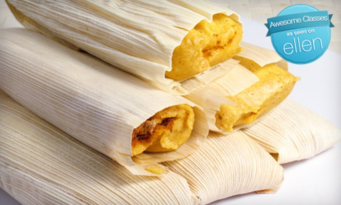 Tarascos Restaurant - Silver Lake: $25 for a Tamale-Making Class Plus One Draft Beer at Tarascos Mexican Restaurant ($54 Value)