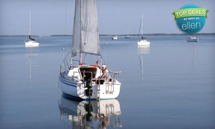 Key Lime Sailing Club - Key Largo: $79 for an Introduction to Sailing Lesson from Key Lime Sailing Club in Key Largo ($200 Value)