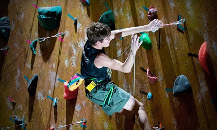 Dallas Rocks - Dallas: One- or Three-Day Pass, 10-Day Punch Card, or Full Day of Rock Climbing for 10 at Dallas Rocks (Up to 61% Off)
