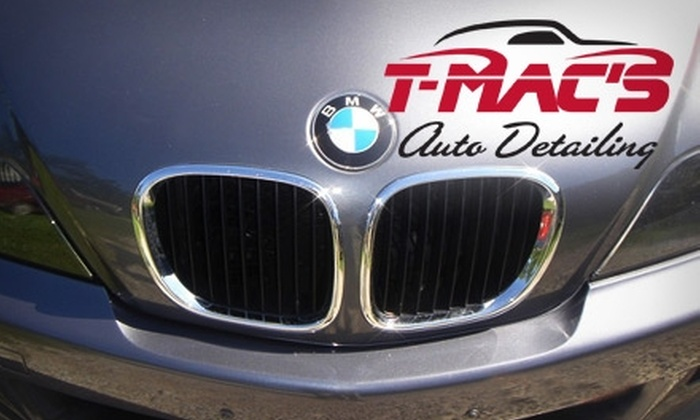 T-Mac's Auto Detailing - Tulsa: $47 for a T-Mac's Express Auto Detailing ($95 Value)