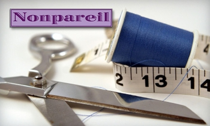 Nonpareil Studio - Bach: $40 for $100 Worth of Tailoring, Fitted Shirts, and Textile Art Classes at Nonpareil Studio in Ann Arbor