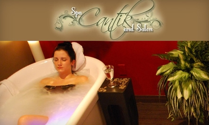 Spa Cantik and Salon - Sherwood - McCarthy: $40 for a Couple's Hydrotherapy Tub Treatment at Spa Cantik and Salon