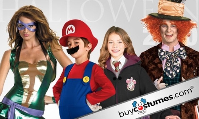 BuyCostumes.com: $15 for $30 Worth of Merchandise from BuyCostumes.com