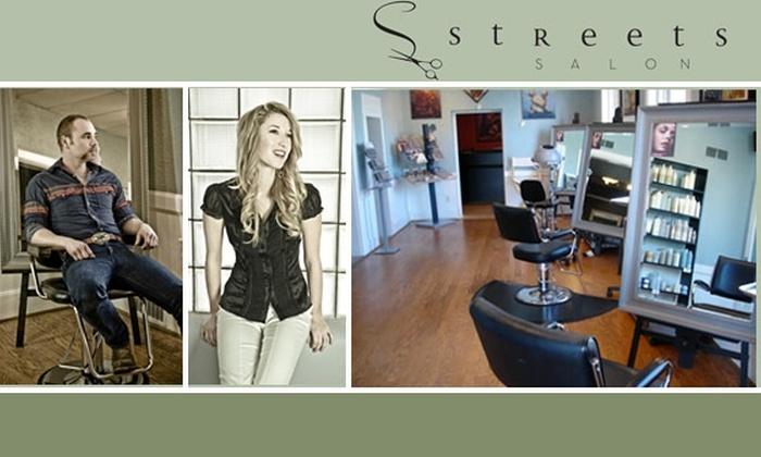 Streets Salon - Nashville-Davidson metropolitan government (balance): $30 for $75 Worth of Hair and Skin Care Service at Streets Salon
