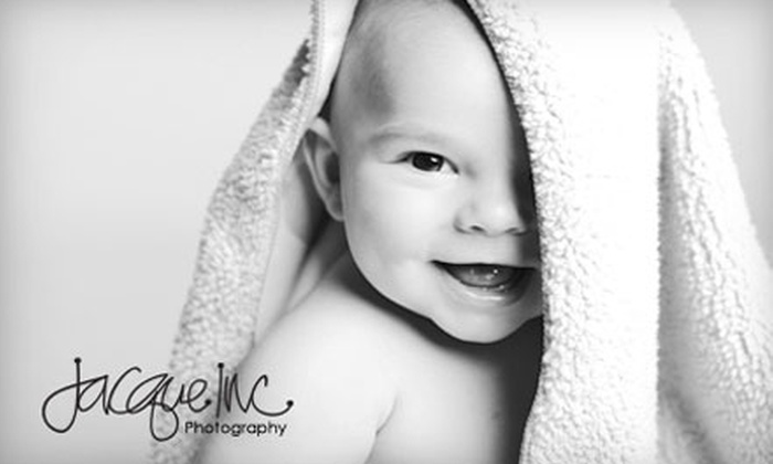 "Jacque, Inc. - Old Town: $20 for a One-Hour Photography Session Plus Three 4"" x 6"" Prints from Jacque, Inc. ($130 Value)"