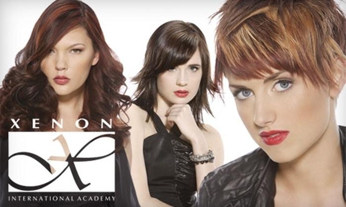 Xenon International Academy - Ballwin: $16 for $40 Worth of Salon & Spa Services at Xenon International Academy