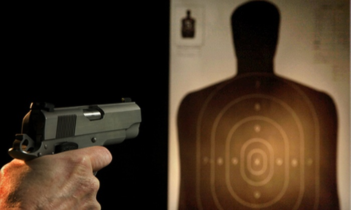 Gilbert Indoor Range - 4: Shooting-Range Package with Ammo and Targets for Two or Four at Gilbert Indoor Range in Rockville (Up to 56% Off)